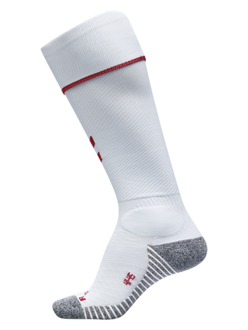 PRO FOOTBALL SOCK 17-18, WHITE/TRUE RED, packshot