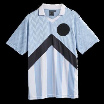 hmlNIELS NEWSTOCK POLO T-SHIRT, ARGENTINA BLUE, packshot
