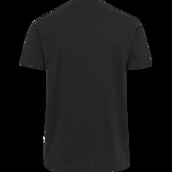 hmlMOVE T-SHIRT, BLACK, packshot