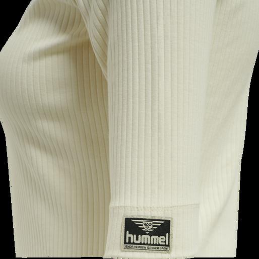 hmlBELL TURTLENECK S/S, EGGNOG, packshot
