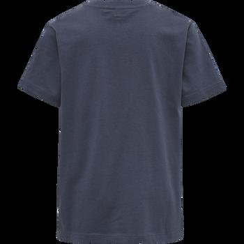 hmlUNI T-SHIRT S/S, OMBRE BLUE , packshot