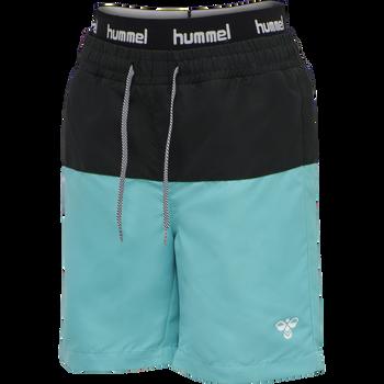hmlGARNER BOARD SHORTS, SCUBA BLUE, packshot