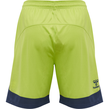 hmlLEAD POLY SHORTS KIDS , LIME PUNCH, packshot