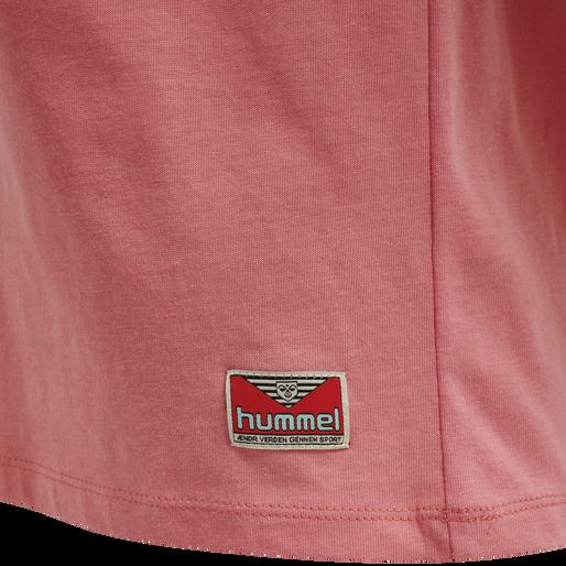 hmlINTRO T-SHIRT, TEA ROSE, packshot