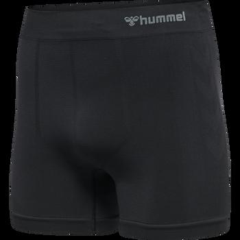 hmlJACK SEAMLESS BOXERS, BLACK, packshot
