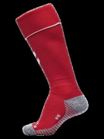 PRO FOOTBALL SOCK 17-18, TRUE RED/WHITE, packshot