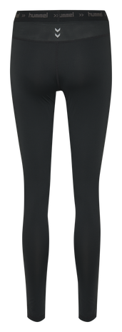 HUMMEL FIRST PERFORMANCE WOMEN TIGHTS, BLACK, packshot