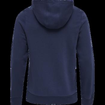 HMLDARIN HOODIE, MEDIVIAL BLUE, packshot