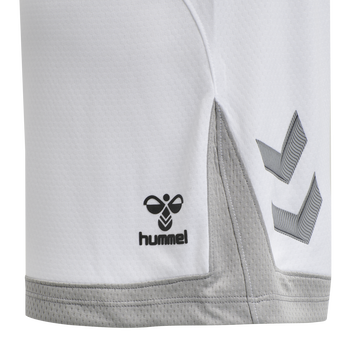 hmlLEAD WOMENS POLY SHORTS, WHITE, packshot