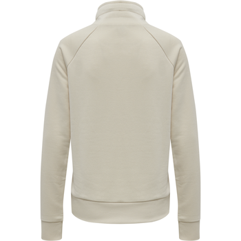 HMLDAMARA SWEAT SHIRT, BONE WHITE, packshot