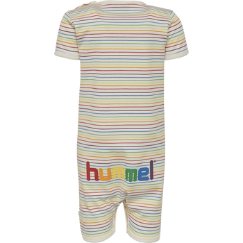 hmlRAINBOW BODYSUIT S/S, WHISPER WHITE, packshot