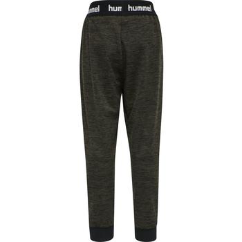 hmlBRANDON PANTS, BLACK OLIVE, packshot