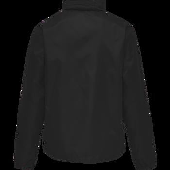 hmlPROMO RAIN JACKET, BLACK, packshot