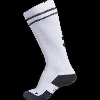 ELEMENT FOOTBALL SOCK , WHITE/BLACK, packshot