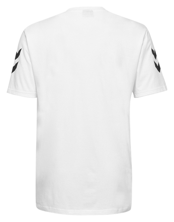 HMLGO KIDS COTTON T-SHIRT S/S, WHITE, packshot