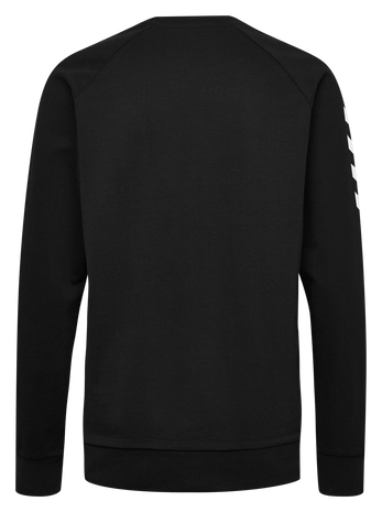 HMLGO COTTON SWEATSHIRT WOMAN, BLACK, packshot