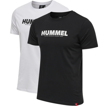 hmlLEGACY 2-PACK T-SHIRT, BLACK/WHITE, packshot
