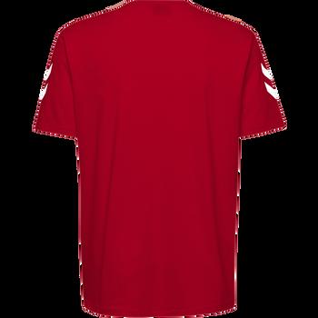 HMLGO KIDS COTTON T-SHIRT S/S, TRUE RED, packshot
