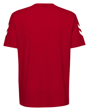 HMLGO KIDS COTTON T-SHIRT S/S, TRUE RED, packshot