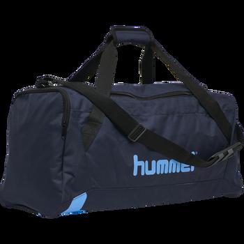 hmlACTION SPORTS BAG, BLACK IRIS/ATOMIC BLUE, packshot