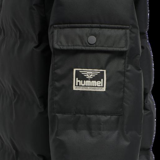 hmlCOLUMBO JACKET, BLACK, packshot