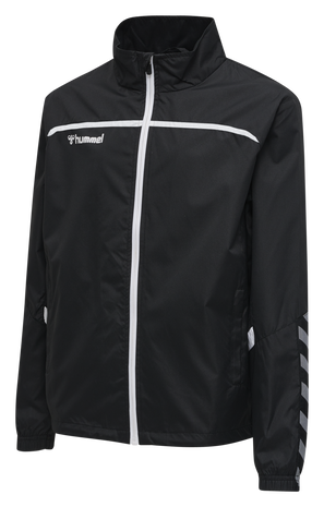 hmlAUTHENTIC TRAINING JACKET, BLACK/WHITE, packshot