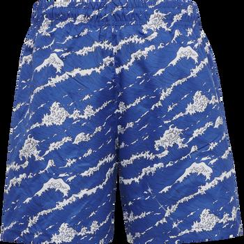HMLMARTY SWIM SHORTS, MIDNIGHT BLUE, packshot