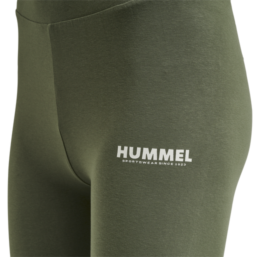 hmlLEGACY 2-PACK HIGH WAIST TIGHTS, BLACK/BEETLE, packshot
