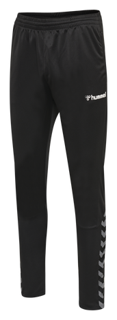 hmlAUTHENTIC TRAINING PANT, BLACK/WHITE, packshot