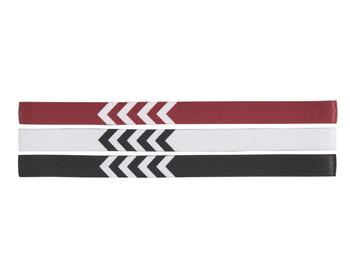 3-PACK HEADBAND 17-18, WHITE/BLACK/TRUE RED, packshot