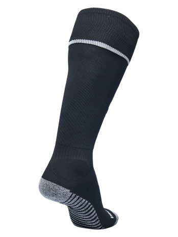 PRO FOOTBALL SOCK 17-18, BLACK/WHITE, packshot