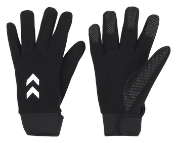 COLD WINTER PLAYER GLOVES, BLACK, packshot