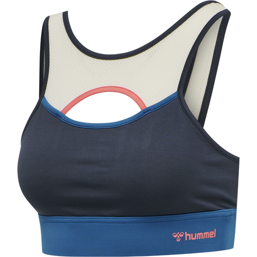 hmlSHARNI SPORTS BRA, BLUE NIGHTS, packshot