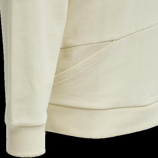 hmlURBAN HOODIE, WHITE ASPARGUS, packshot