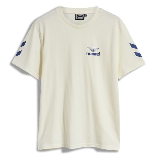 hmlHIVE COTTON TEE, MARSHMALLOW, packshot