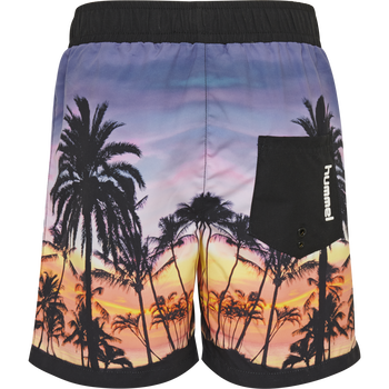 hmlMICKEY BOARD SHORTS, BLACK, packshot