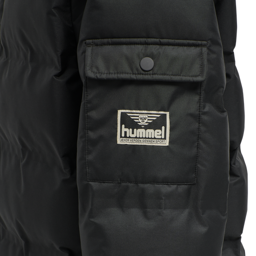 hmlCOLUMBO JACKET, BLACK, packshot