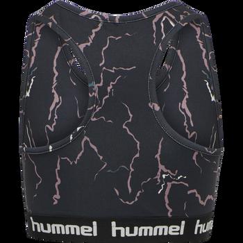 hmlMIMMI SPORTS TOP, CAVIAR/TWILIGHT MAUVE , packshot