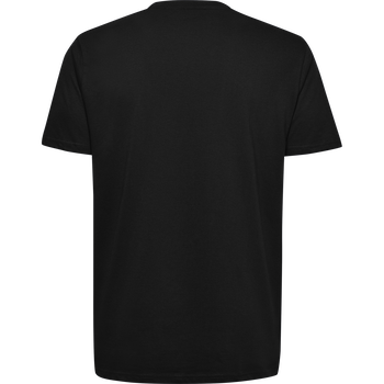 HMLGO KIDS COTTON LOGO T-SHIRT S/S, BLACK, packshot