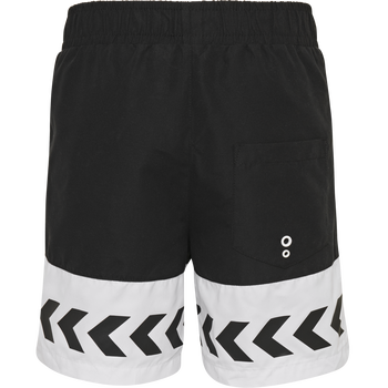 hmlJASON BOARD SHORTS, BLACK, packshot