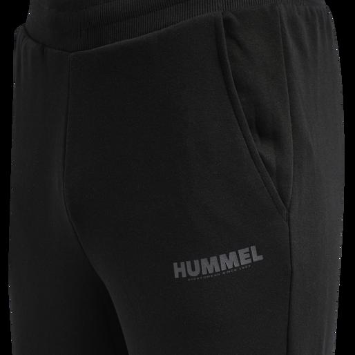hmlLEGACY TAPERED PANTS, BLACK, packshot
