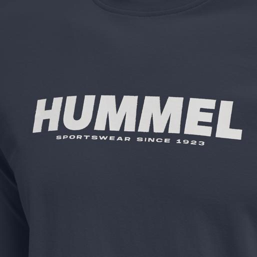 hmlLEGACY T-SHIRT L/S, BLUE NIGHTS, packshot