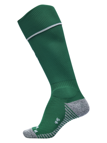 PRO FOOTBALL SOCK 17-18, EVERGREEN/WHITE, packshot