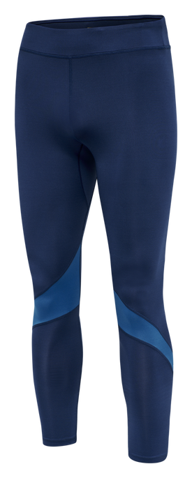 hmlALONZO TIGHTS, MEDIEVAL BLUE, packshot