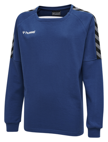 hmlAUTHENTIC KIDS TRAINING SWEAT, TRUE BLUE, packshot