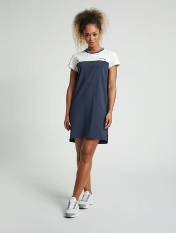 hmlNAHLA DRESS, BLUE NIGHTS, model