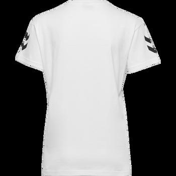 HMLGO COTTON T-SHIRT WOMAN S/S, WHITE, packshot