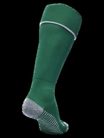 PRO FOOTBALL SOCK 17-18, EVERGREEN/WHITE, packshot