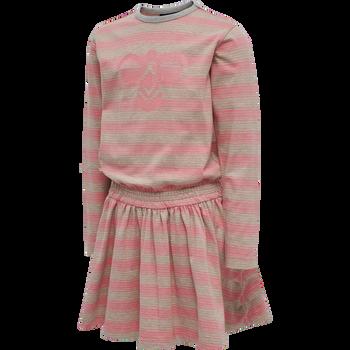 hmlSANDY DRESS L/S, TEA ROSE, packshot