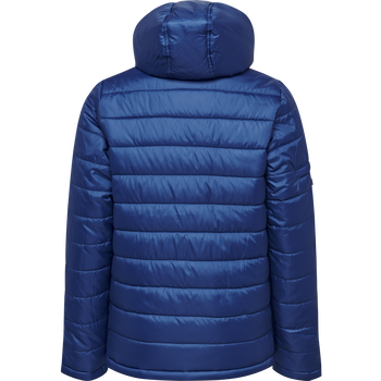 hmlNORTH QUILTED HOOD JACKET KIDS, TRUE BLUE, packshot